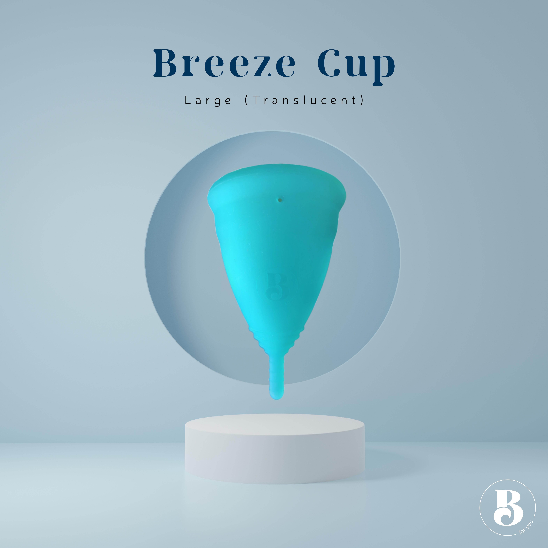 Breeze Cup Large Translucent