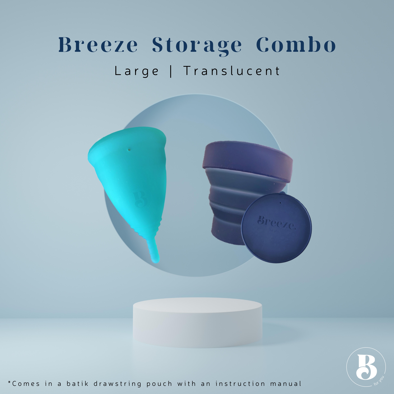 Breeze Storage Combo Large Translucent