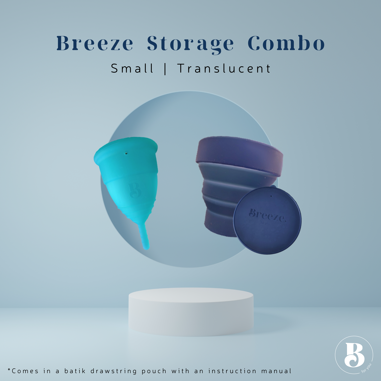 Breeze Storage Combo Small Translucent